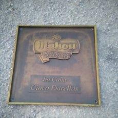 Carteles: CHAPA RARA EXTRAÑA Y CURIOSA DE MAHOU. Lote 195339853
