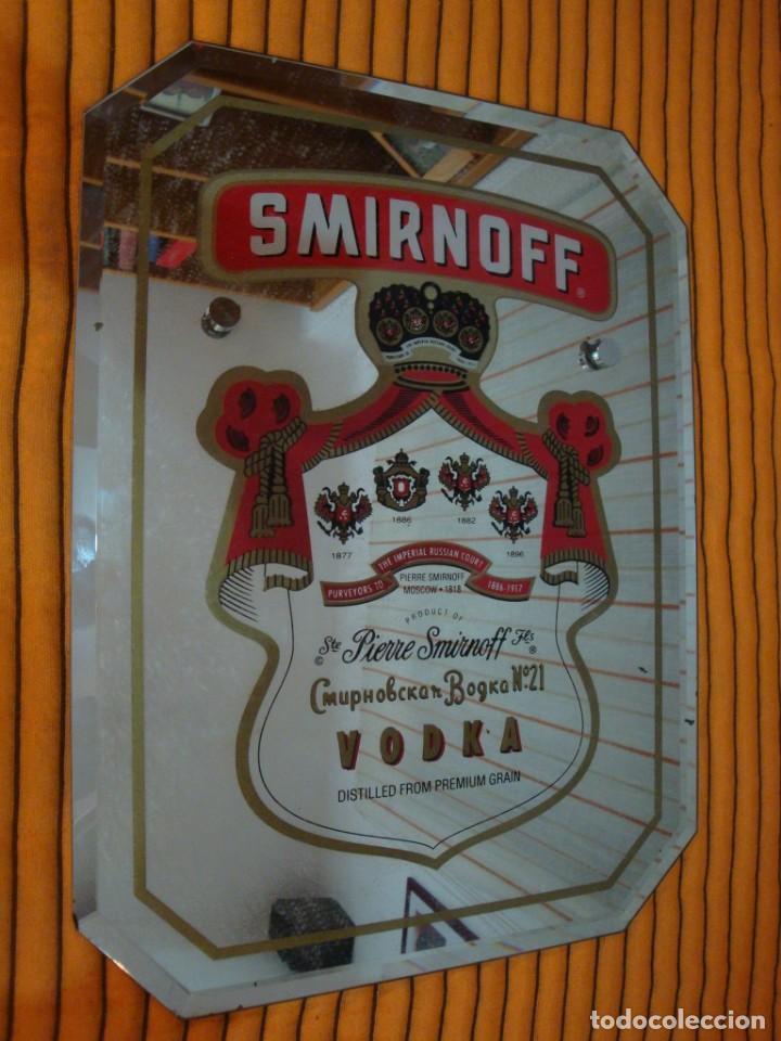 SMIRNOFF (Coleccionismo - Carteles y Chapas Esmaltadas y Litografiadas)