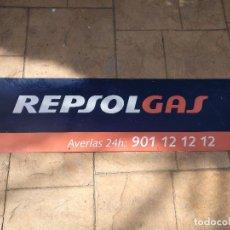 Carteles: CARTEL CHAPA DE REPSOL. Lote 196572487