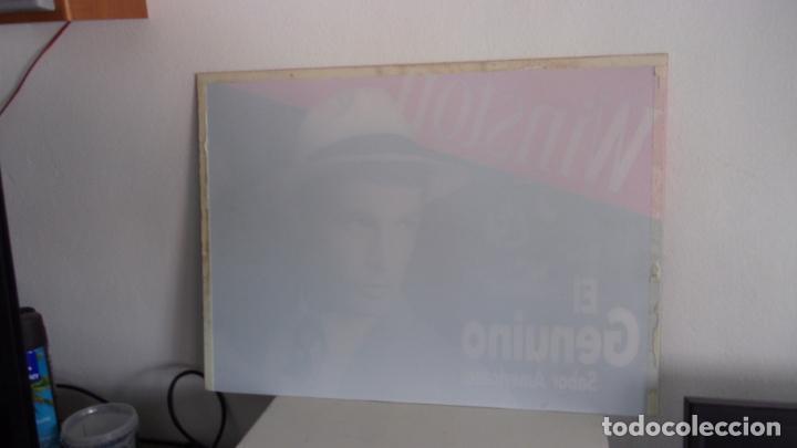 Carteles: cartel publicidad winston,metacrilato,mide 56 cm por 41 cm.buen estado - Foto 3 - 196595436