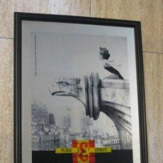 Carteles: CUADRO ESPEJO JB WHISKY. EL UNICO QUE ES UNICO.. Lote 198023237