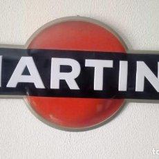 Carteles: CHAPA MARTINI...PERFECTO ESTADO..DE LOS AÑOS 80.. Lote 198585198