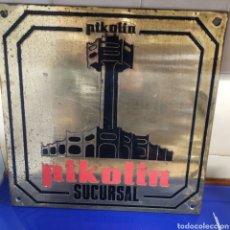 Carteles: ANTIGUA CHAPA DE PIKOLIN. Lote 198917462