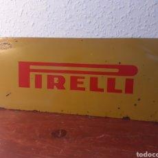 Carteles: CHAPA DE PIRELLI - TALLER MECÁNICO - CARTEL - METAL - AÑOS 60. Lote 201098755