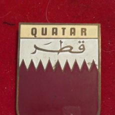 Carteles: CHAPA DE COCHE QUATAR. Lote 204463090