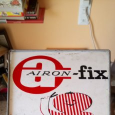 Carteles: GRAN CARTEL METÁLICO DE AIRON-FIX.. Lote 208226348