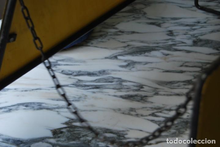 Carteles: EXPOSITOR PARA RUEDAS PIRELLI - CHAPAS LITOGRAFIADAS - APOYA RUEDAS - TALLER MECÁNICO - AÑOS 60 - Foto 4 - 208573112