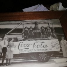 Carteles: CUADRO ORIGINAL DE COCACOLA. Lote 208873793