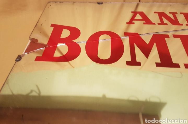Carteles: Antiguo y espectacular cartel espejo Publicidad Anis Bombita Rute Cordoba - Foto 3 - 208945091