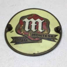Carteles: PLACA - CHAPA MOTO MONTESA ANTIGUA. Lote 209349995
