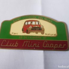 Carteles: CLUB MINI 1997 SANT LLORENÇ DEL MUNT. Lote 209915245