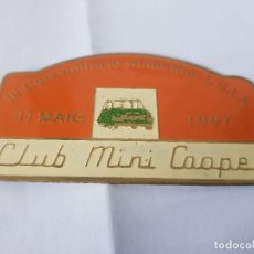 Carteles: CLUB MINI 1997 ILLA. Lote 209915538