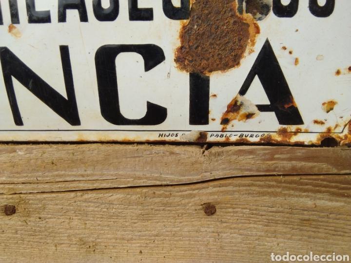Carteles: Placa esmaltada y abombada Seguros Galicia - Foto 3 - 210346437