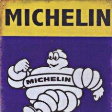 Carteles: CHAPA PUBLICIDAD MICHELIN REPRODUCCIÓN-ENVIO GRATIS. Lote 214227645