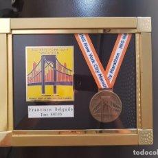 Carteles: MEDALLAS MARATHON NEW YORK. Lote 215360985