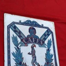 Carteles: CARTEL ANTIGUO PUBLICIDAD CAFE SAIMAZA 46 CMS. DE ALTO X 30 CMS. DE ANCHO. Lote 215485183