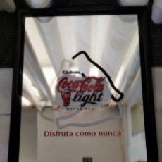 Affiches: CUADRO ESPEJO DE COCA-COLA LIGHT.. Lote 217238810