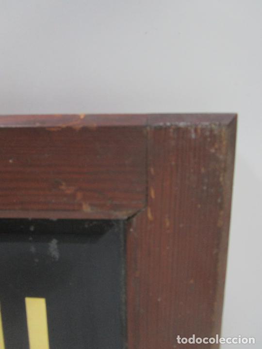 Carteles: Antiguo Cartel - Hijo de Camilo Mulleras - Fabrica Textil, Castellfollit de la Roca -Cristal Pintado - Foto 7 - 219143690