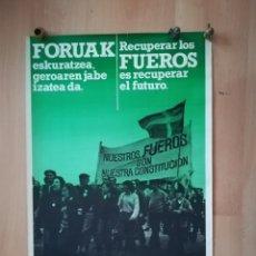 Carteles: ANTIGUO CARTEL POLÍTICO. AÑOS 70.. Lote 219527020
