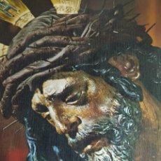 Carteles: CARTEL EN CHAPA JESÚS DEL GRAN PODER. Lote 221167846