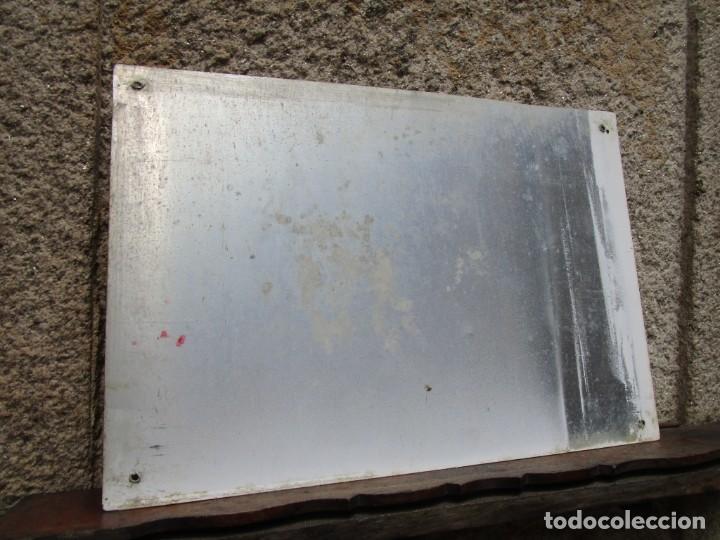 Carteles: GALICIA LA GUARDIA - PLACA CALLE 80S - CUARTA TRAVESIA DA OLIVA - ALUMINIO 48X33CM 540GR ++ INFO - Foto 2 - 221416277