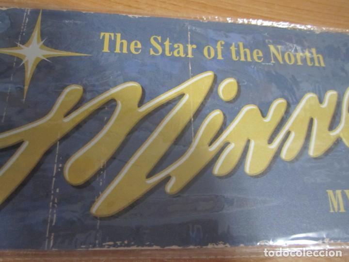 Carteles: cartel chapa minnesota the star of the north nuevo precintado - Foto 2 - 221741150
