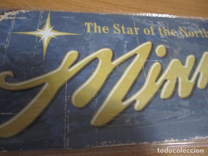 Carteles: cartel chapa minnesota the star of the north nuevo precintado - Foto 3 - 221741150