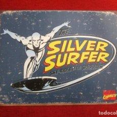 Carteles: CHAPA POSTER VINTAGE SILVER SURFER 40 CM.. Lote 221741951