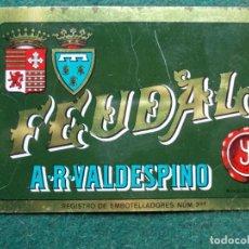 Carteles: CHAPA VALDESPINO FEUDAL. Lote 222017635