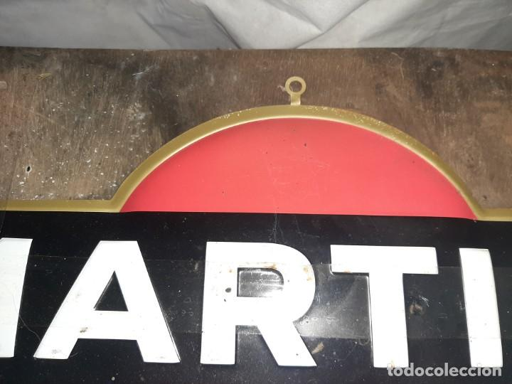 Carteles: Chapa cartel Martini en relieve. - Foto 4 - 176498610