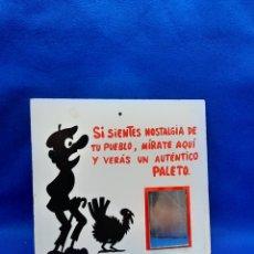 Carteles: VIEJO CARTEL DE BROMA. Lote 225108916