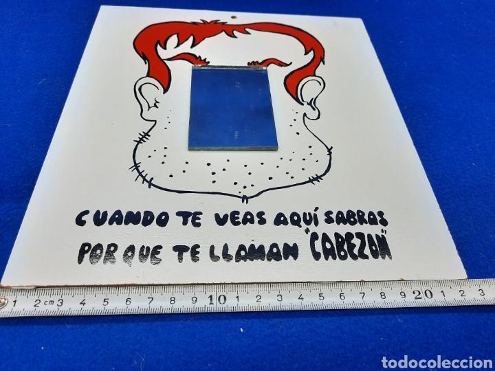 Carteles: Viejo cartel de broma con espejo - Foto 2 - 226670665