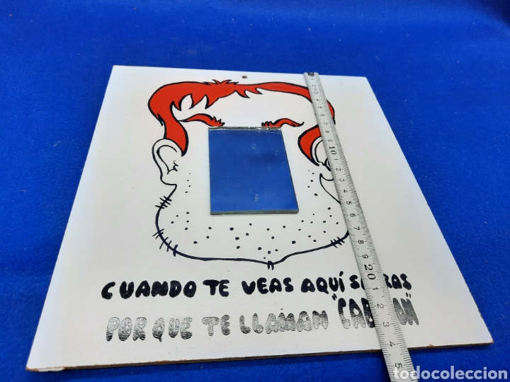 Carteles: Viejo cartel de broma con espejo - Foto 3 - 226670665