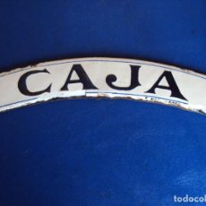 Cartazes: (PUB-201190)PLACA ESMALTADA CAJA - FABRICANTE F.NADAL (BARCELONA). Lote 226809315