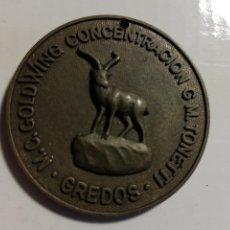 Carteles: MEDALLA II CONCENTRACIÓN MOTERA GREDOS CANDELEDA (ÁVILA) 1989. Lote 228291170