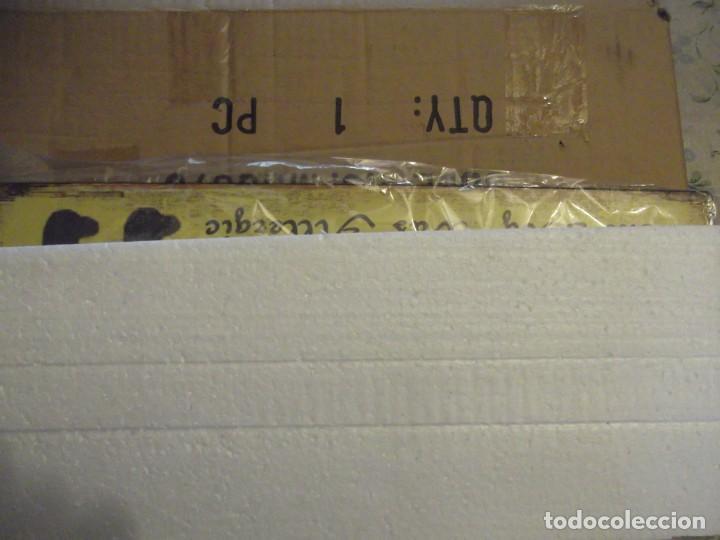 Carteles: Cartel de chapa Nuevo 36 X 13 cm - Foto 3 - 230879570