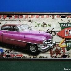 Carteles: CHAPA METÁLICA COCHES.. Lote 231473315