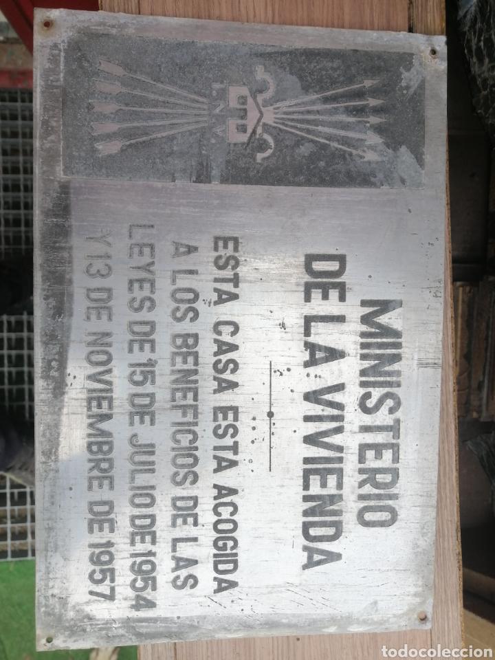 CHAPA DE FALANGE (Coleccionismo - Carteles y Chapas Esmaltadas y Litografiadas)