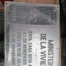 Carteles: CHAPA DE FALANGE. Lote 234936470