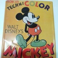 Carteles: PLACA MICKEY MOUSE (PARA COLGAR). Lote 236052545