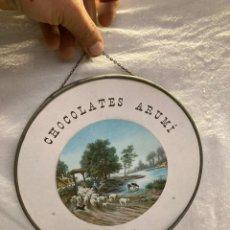 Affissi: CARTEL ANTIGUO,CHOCOLATES ARUMI VICH!. Lote 242835270