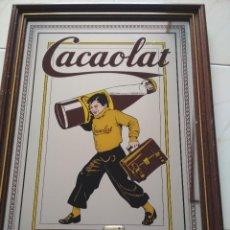 Carteles: CARTEL/LETRERO/ESPEJO/CUADRO DE CACAOLAT. AÑOS 70/80. Lote 244855350