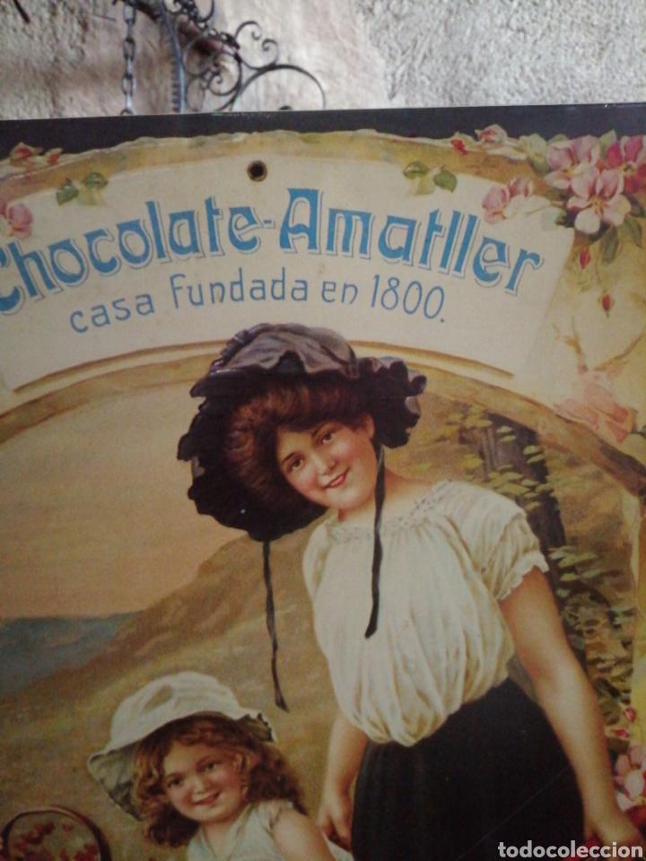 Carteles: Cartel de metal chocolate Amatller - Foto 2 - 246264555