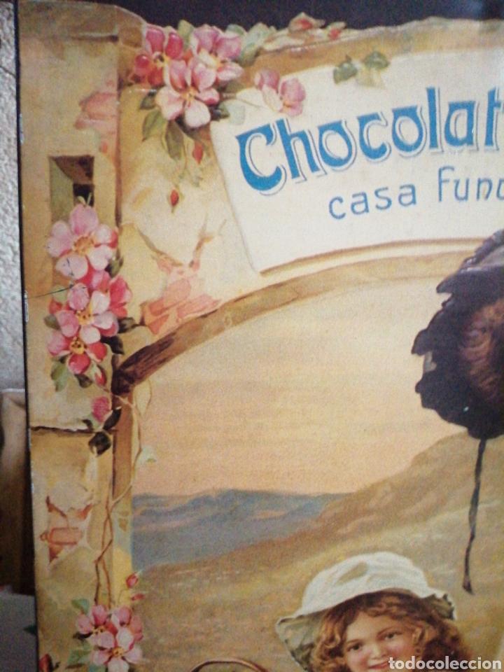 Carteles: Cartel de metal chocolate Amatller - Foto 4 - 246264555