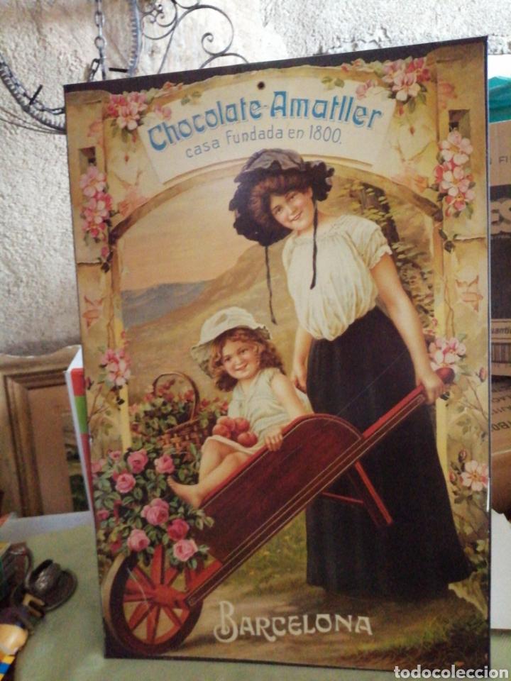 Carteles: Cartel de metal chocolate Amatller - Foto 8 - 246264555