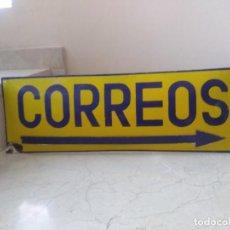 Carteles: MAGNIFICA PLACA OVALADA AUTÉNTICA DE CORREOS. Lote 252206110