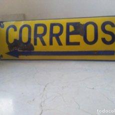 Carteles: ANTIGUA Y AUTENTICA PLACA OVALADA DE CORREOS. Lote 255313960