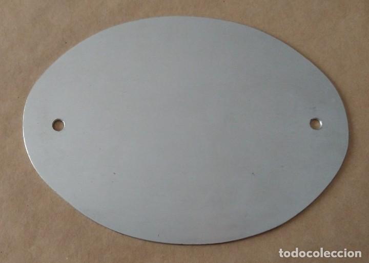 Carteles: Única TC Placa metal automóvil coche. Cuerpo Consular Acreditado, Comunidad Valenciana - Foto 2 - 256029025