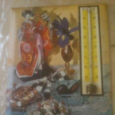 Carteles: VINTAGE CHAPA / PLACA TERMÓMETRO VIUDA DE SOLANO AÑO 1964 METAL / HOJALATA. Lote 257905535