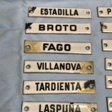 Affiches: CHAPAS ESMALTADAS DE CORREOS. CLASSIFICAR CORREO EN CENTRAL. Lote 262634400